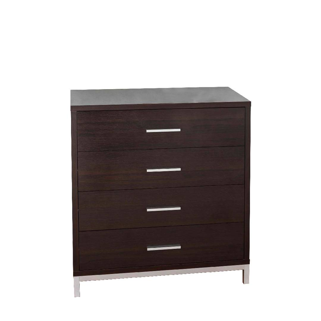 4 Layers Storage Cabinet With Professional Veneer Metal Foot Stool Size  Specification