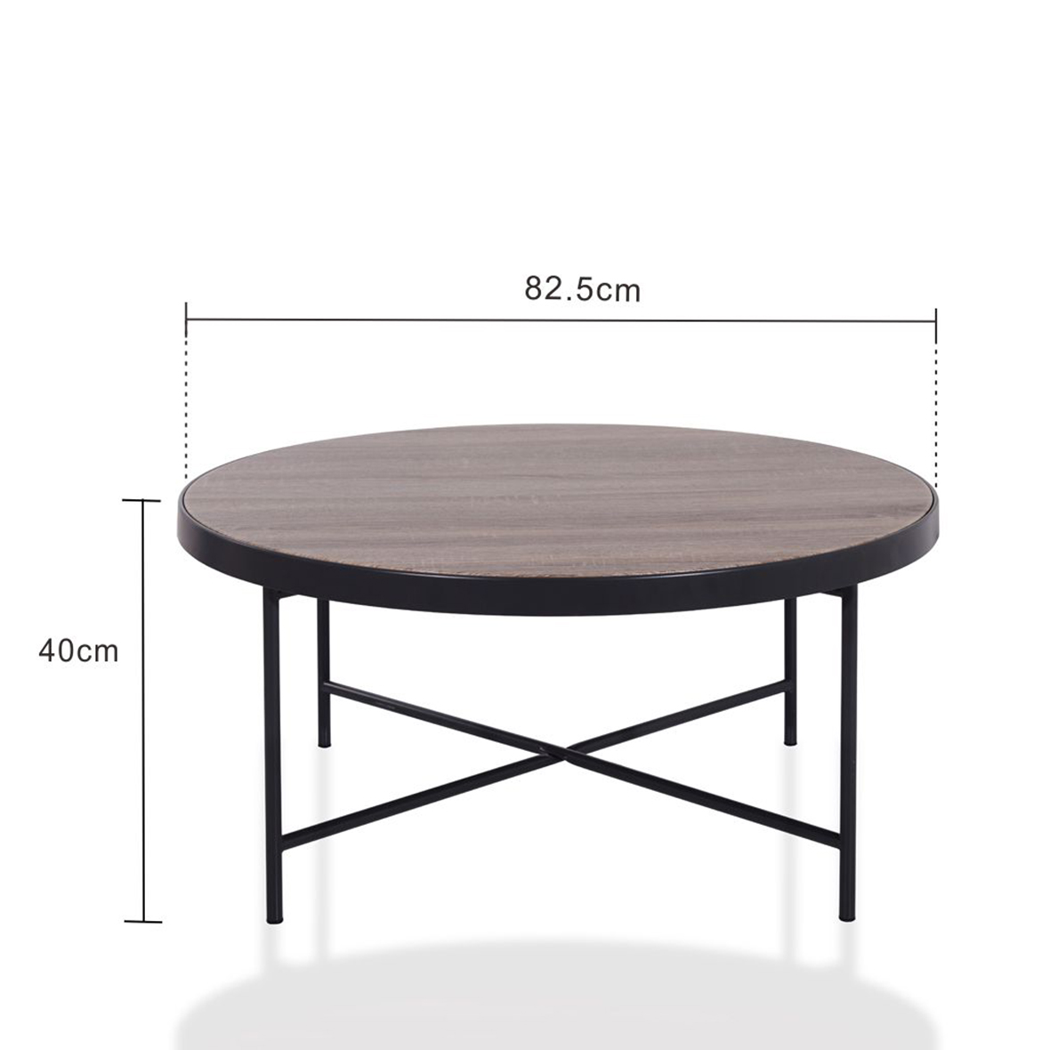 black metal frame coffee table size specification - Metal Frame Coffee Table