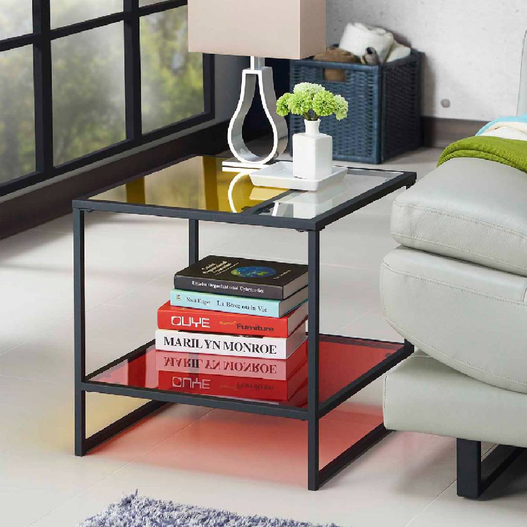 Comodino rettangolare in vetro colorato produttori di for Mobili per la casa