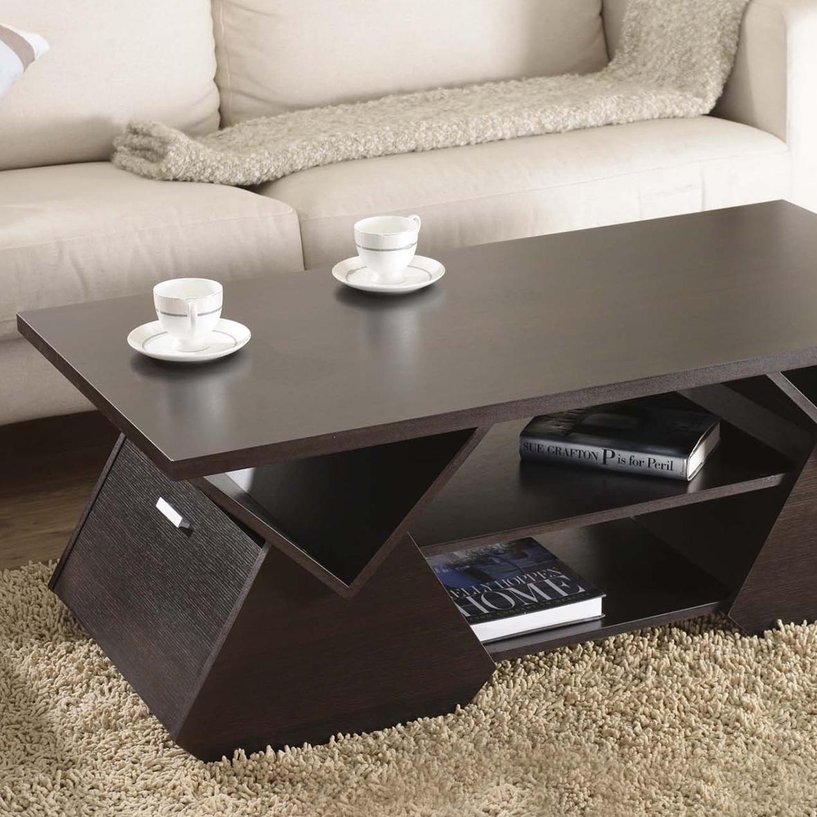 Mesa de centro geométrica de pirámide | Fabricantes de muebles para ...