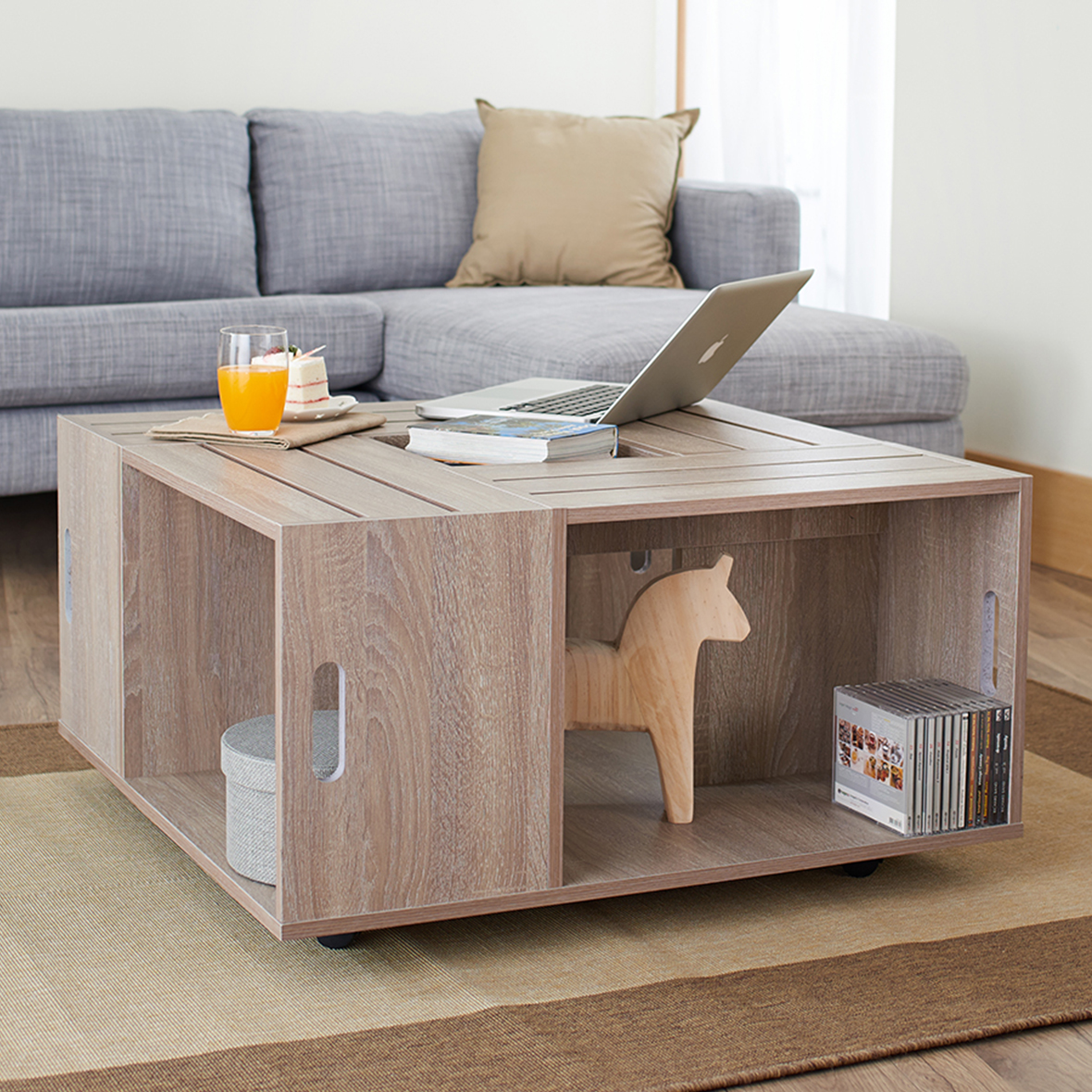Mesa cuadrada con rueda | Fabricantes de muebles para el hogar ...