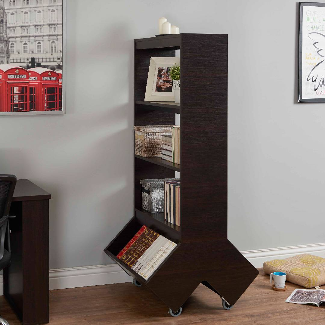 with photo ladder bookcases custom large bookcase rolling other by traditional