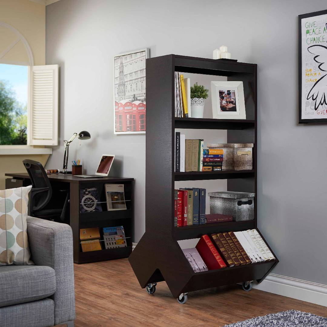 Movable Bookcases Share Your Favorite Books Or Articles With Friends