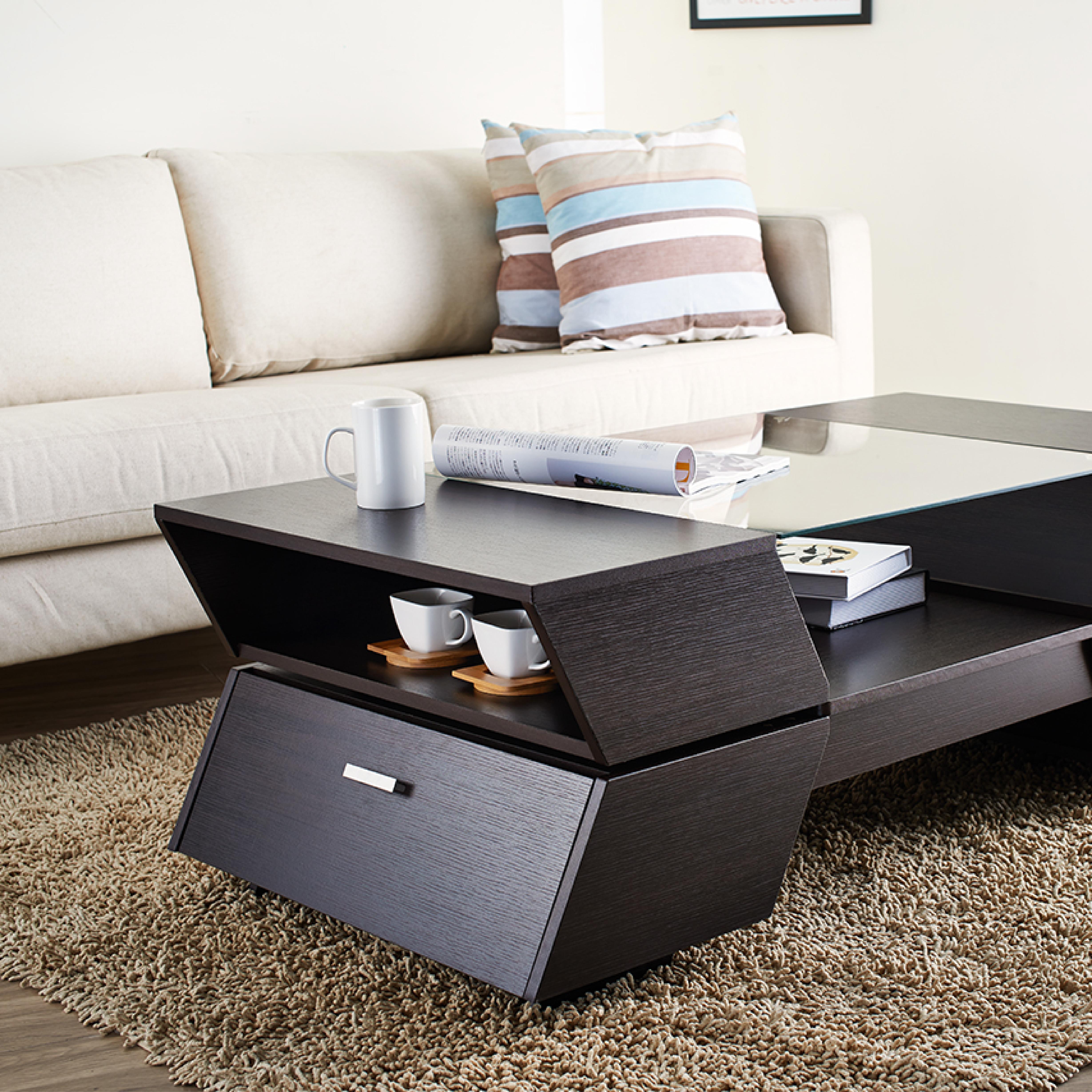 Imite la mesa de centro moderna del estilo de la apariencia de la ...