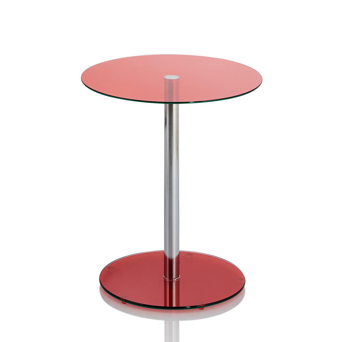 Table d 39 appoint ronde en verre moderne fabricants de - Table en verre moderne ...