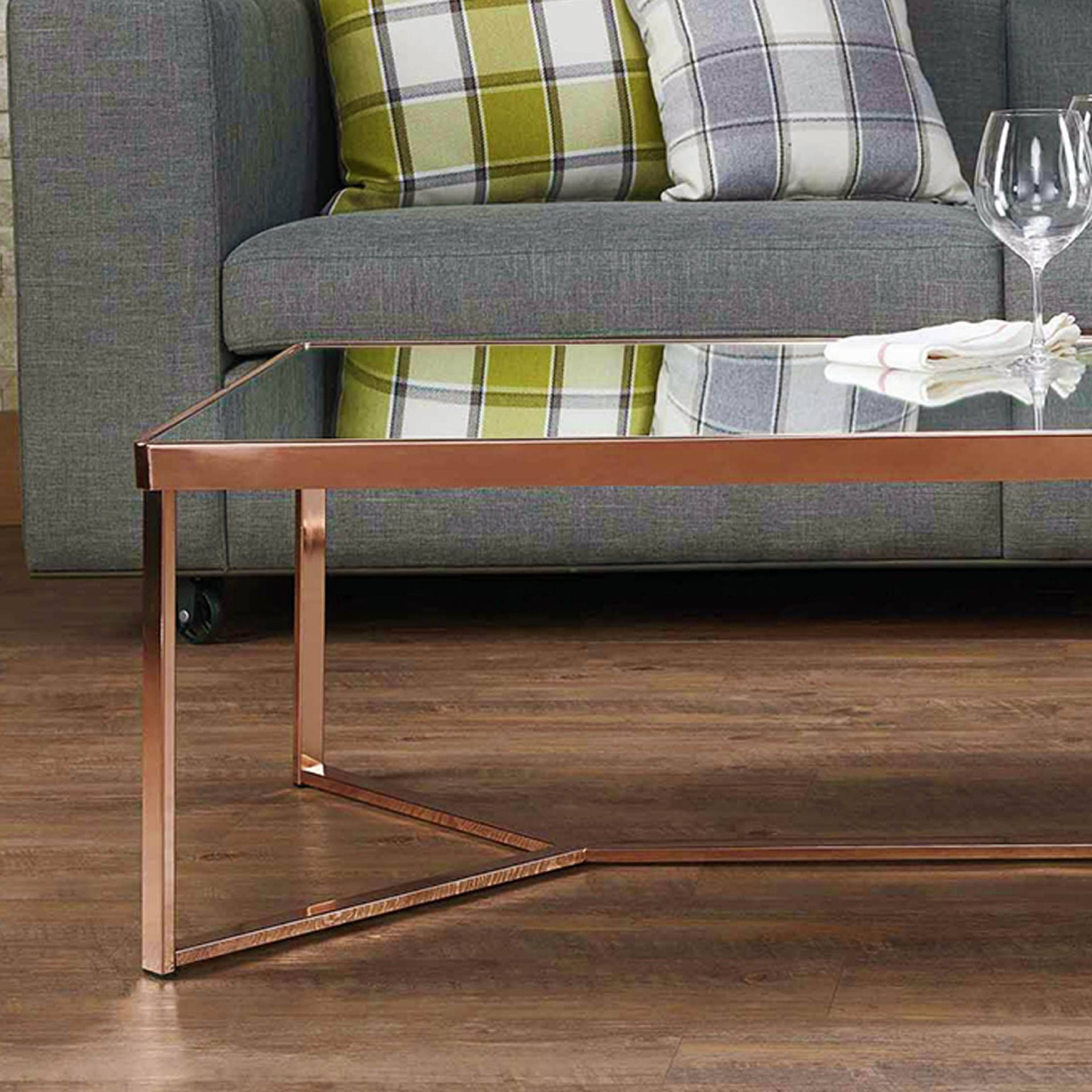 Easy Assembling Coffee Table Fit To Place Anywhere At Home Modern Forward