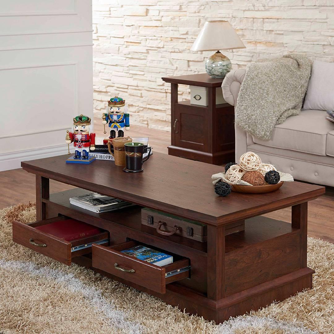 Couchtisch Geräumiger Schreibtisch Und Unter Dem Stauraum