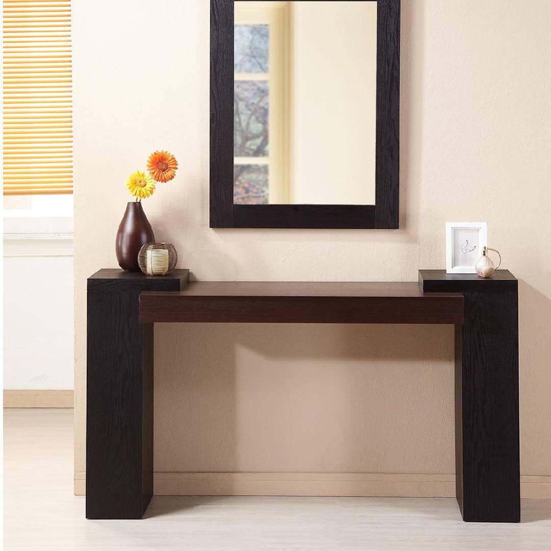 Konsolentisch mit zwei Farben   Home Möbelhersteller - Sliceshinner