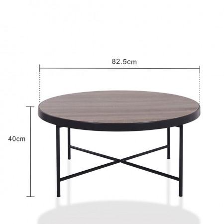 Mesa de centro con estructura de metal gris   Fabricantes de muebles ...