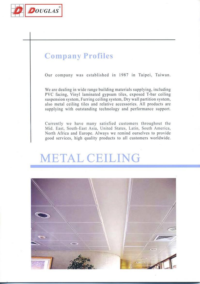 Metal ceiling tile douglas overseas corp dailygadgetfo Choice Image