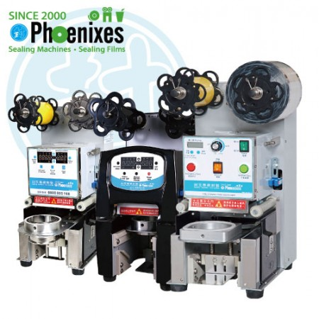 Cup Sealing Machine - Automatic cup sealing machine