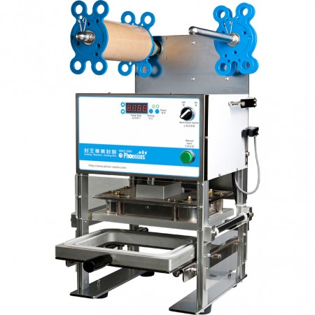 Tabletop Manual Tray Sealing Machine - semi-automatic tray sealer