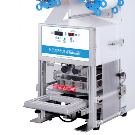 Tabletop Automatic Tray Sealer - Phoenixes Automatic Tray Sealer