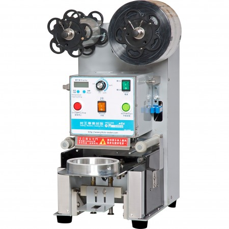 Jumbo Cup Sealing Machine - Phoenixes Jumbo Cup Sealer