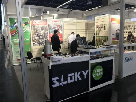 Sloky in EISENWARENMESSE hall 2.2 booth# F49 from 4-7th of March in Koln - Sloky in EISENWARENMESSE hall 2.2 booth# F49 from 4-7th of March in Koln with all new applications includeing Mini adapters Suitable for cell phone, drone, radio, camera, computer, household applicance and 3C devices