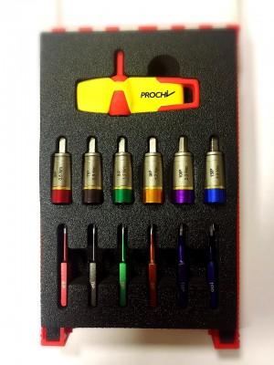 Sloky Torque screwdriver customized handle color