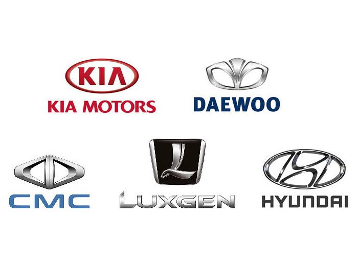컨트롤 암, 타이 로드 엔드, 랙 엔드, 스태빌라이저 링크, 한국 및 대만 차량용 볼 조인트.