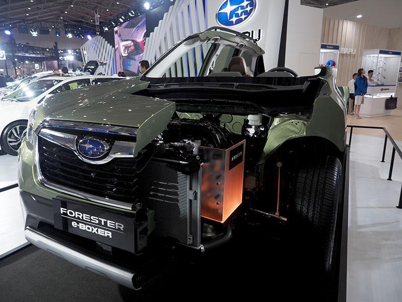 Детали ходовой для легковых автомобилей SUBARU.