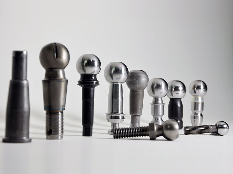CNC Machined Ball Pin with Induction Hardness