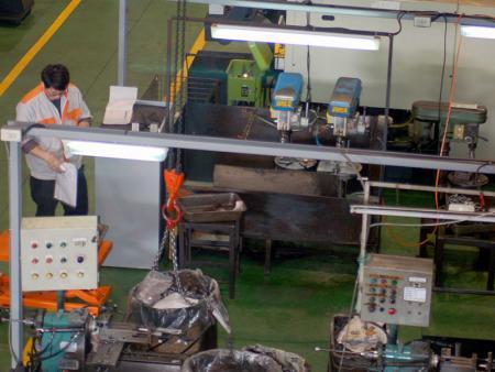 Robot lavorazione CNC
