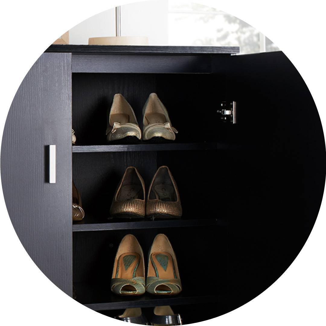 Fornitura di armadi per scarpe di lusso a chiave bassa ...