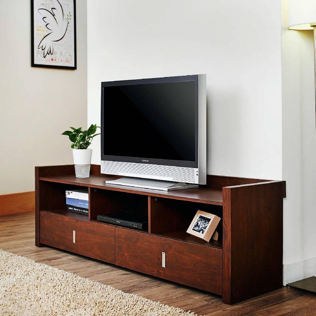 Meuble Tv Table Basse Assorti fourniture de meuble tv simple de style rétro de 1,4 m