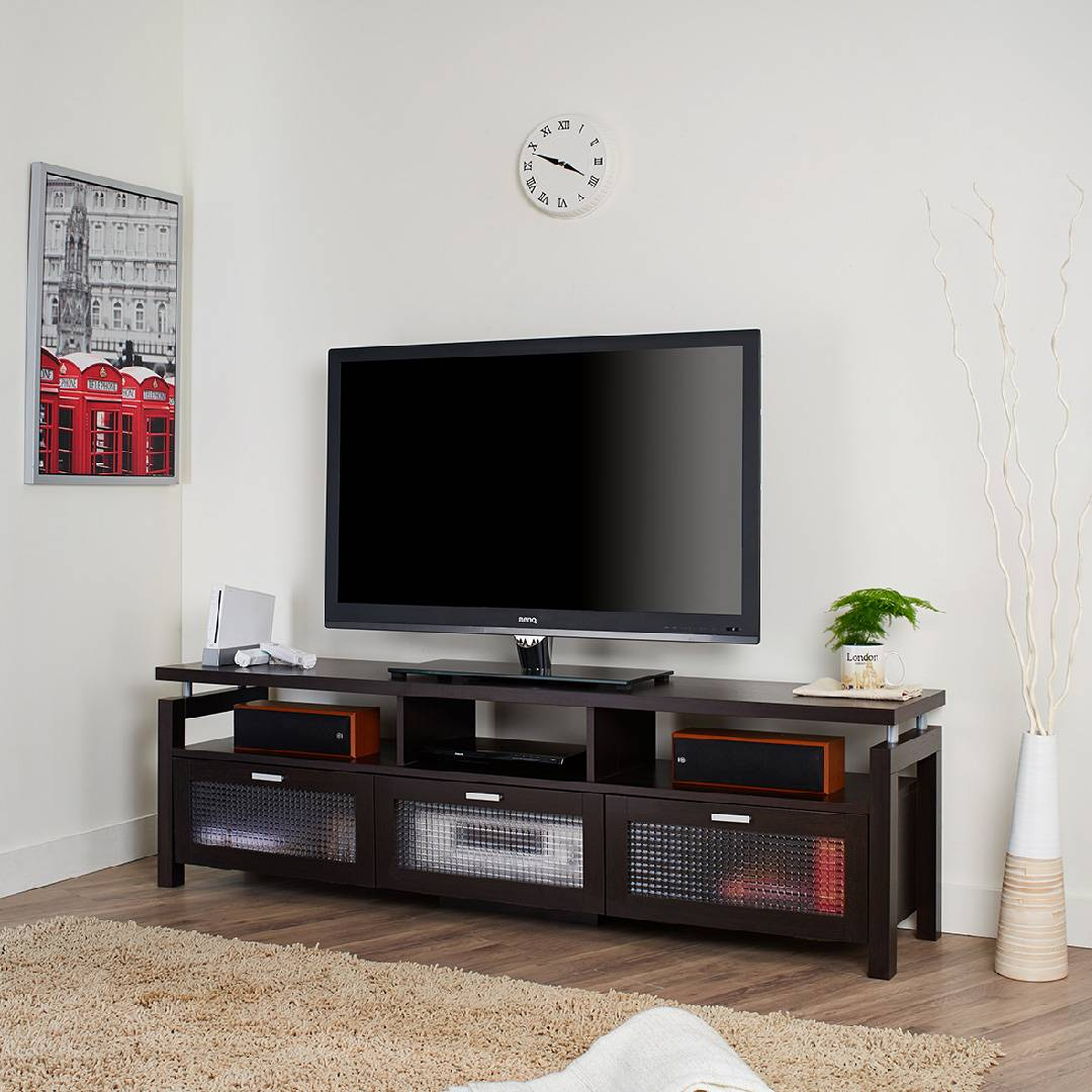 Classic Decorative Drawer Tv Stand Supply One Stop Eco Friendly
