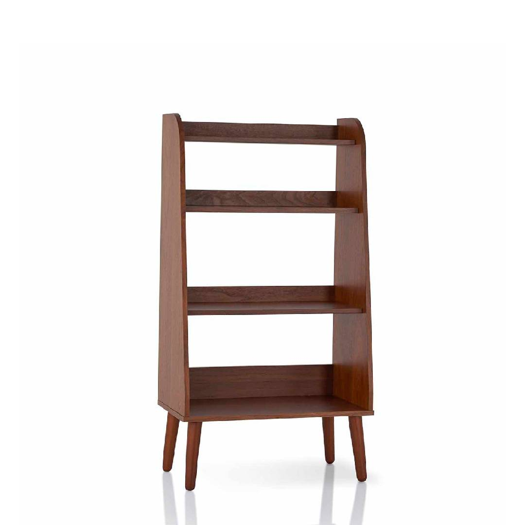 Japanese Style Retro Bookcase Supply One Stop Eco Friendly