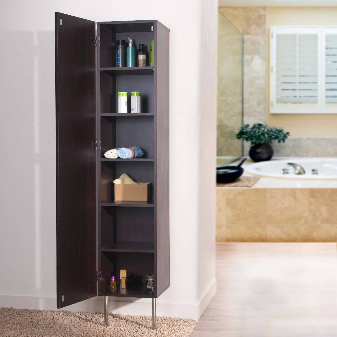 6 Layers Hanging Bathroom Cabinet Safe Green Furniture Supplier Slicethinner