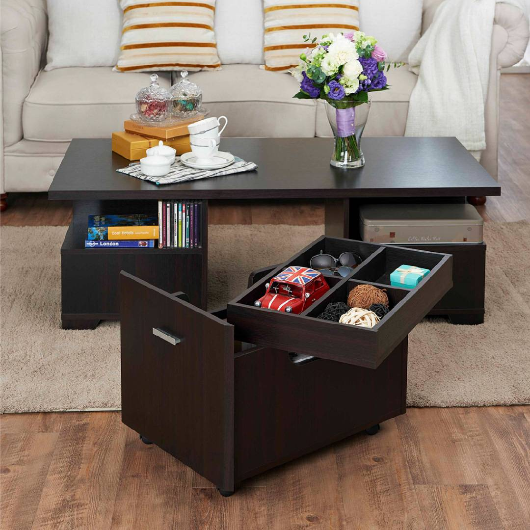 Mobile Storage Coffee Table Supply One Stop Eco Friendly