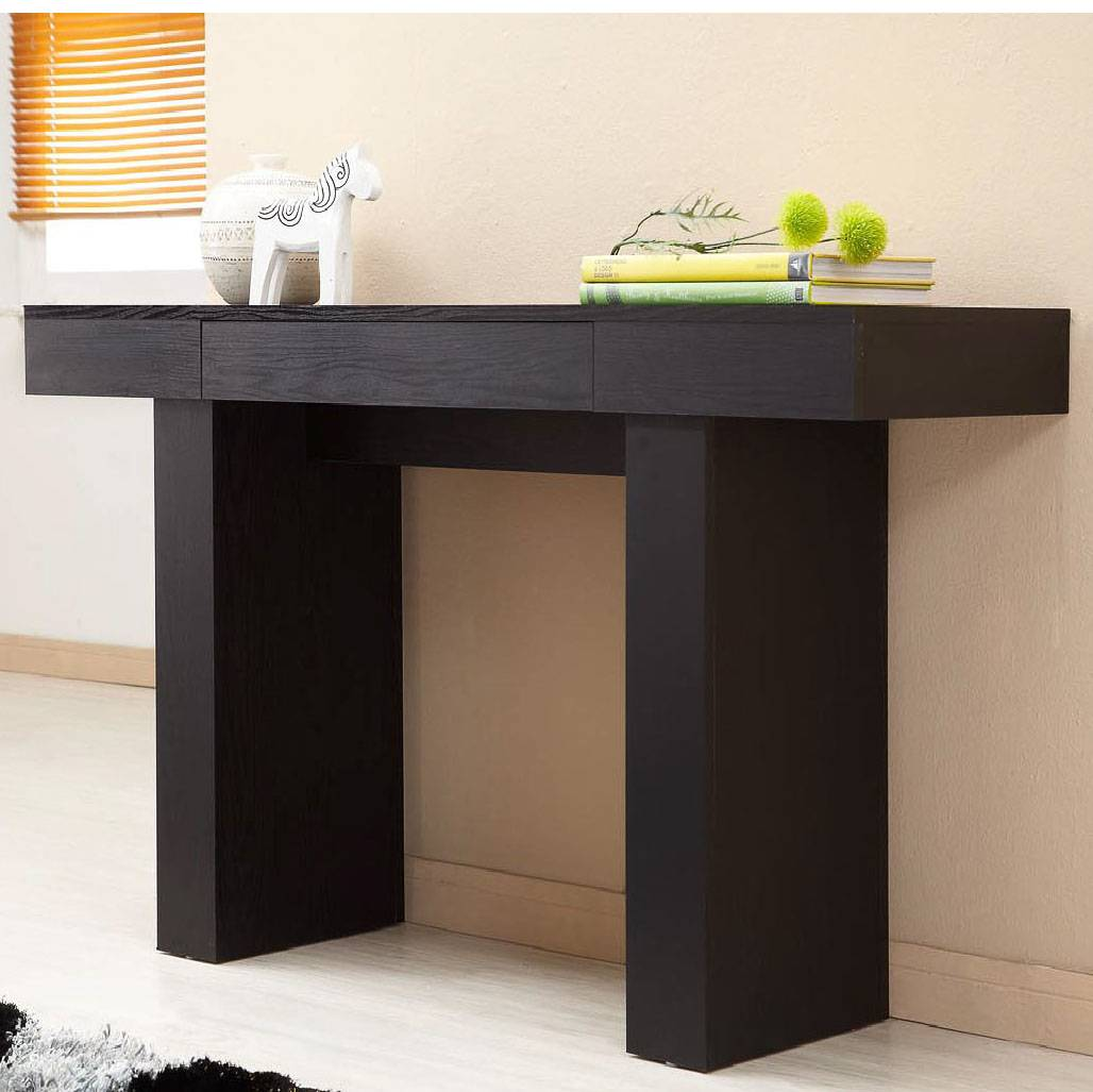 Modern High Quality Black Console Table Research  Development