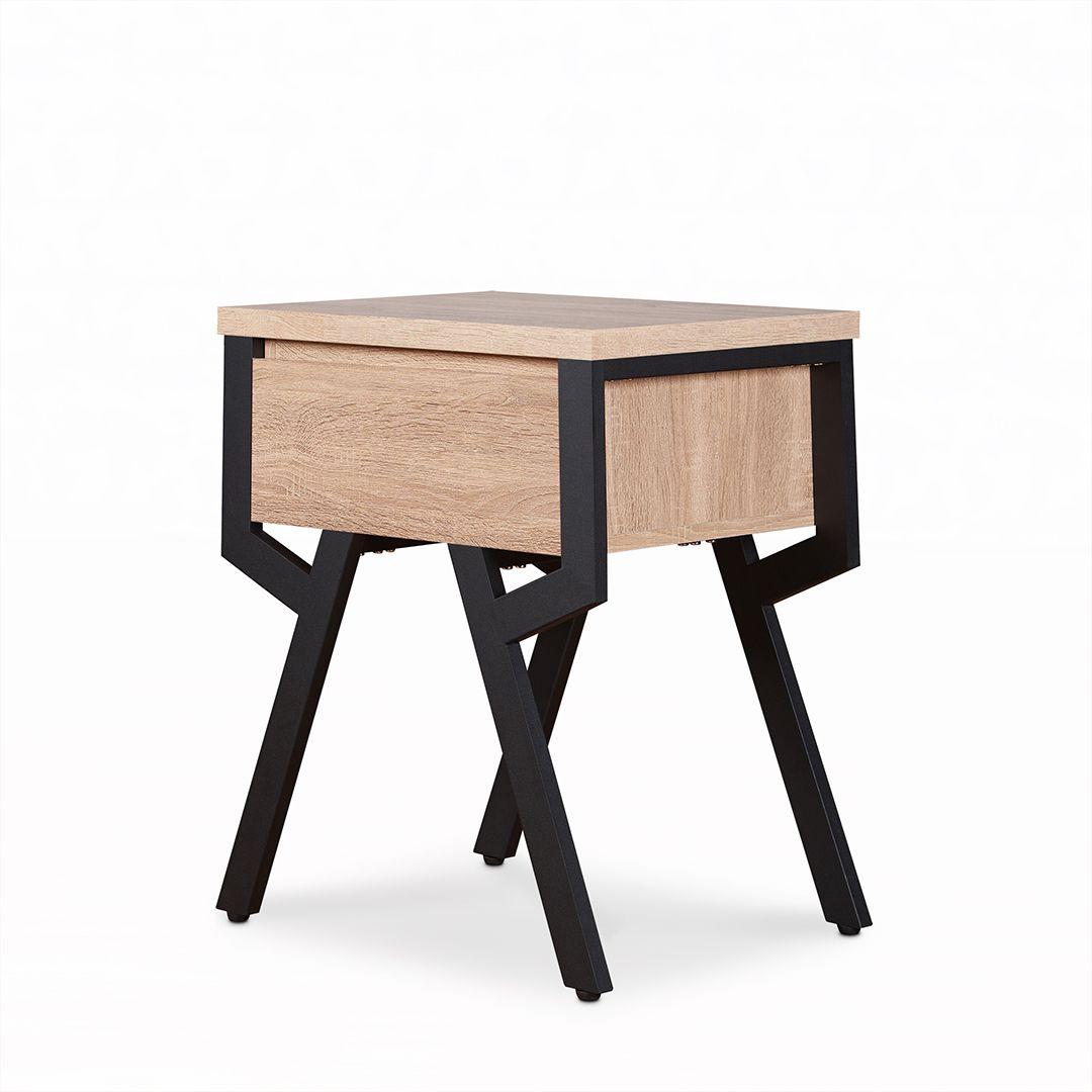 Modern Minimalist Wood Side Table Safe Green Furniture Supplier Slicethinner