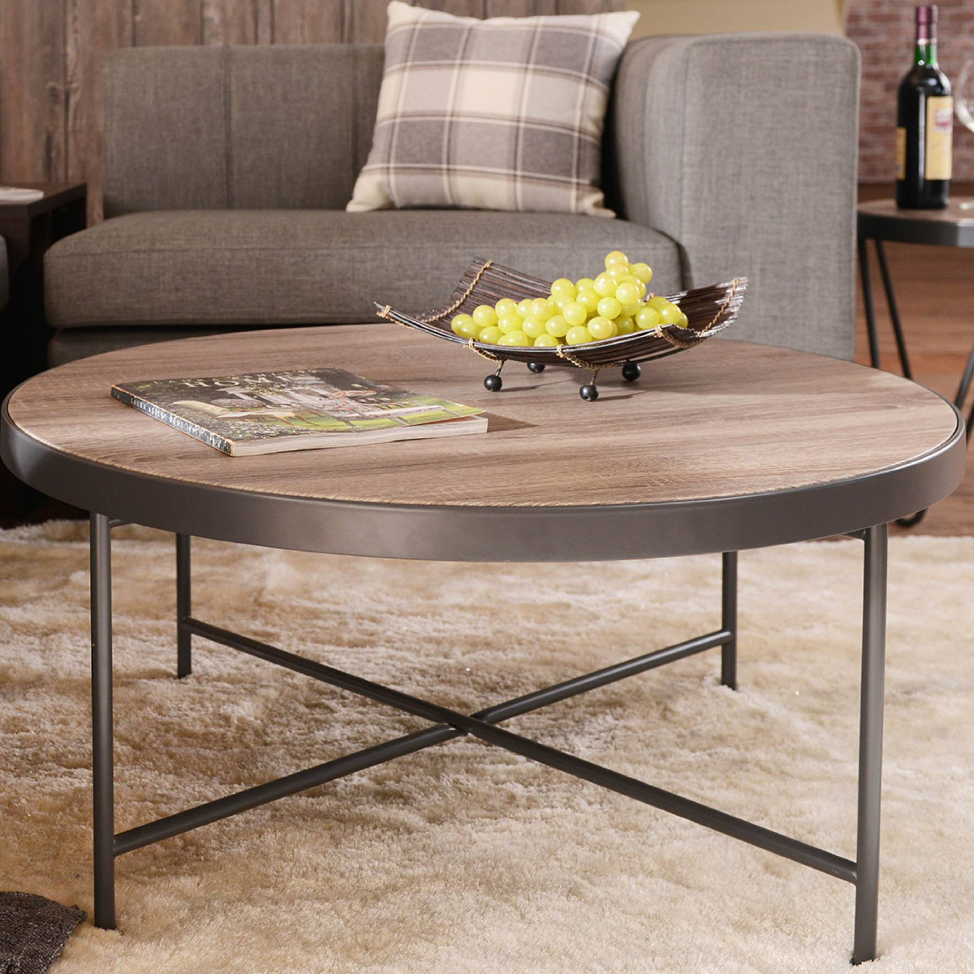 - Grey Metal Frame Coffee Table Research Development Production