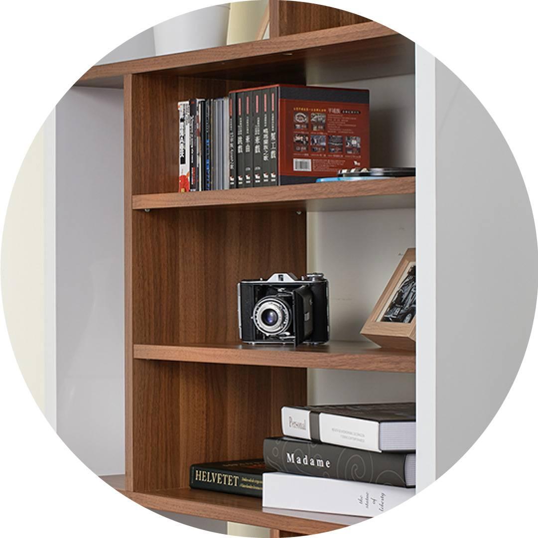 Modern Multiple Frames Demonstrate Shelf Supply One Stop
