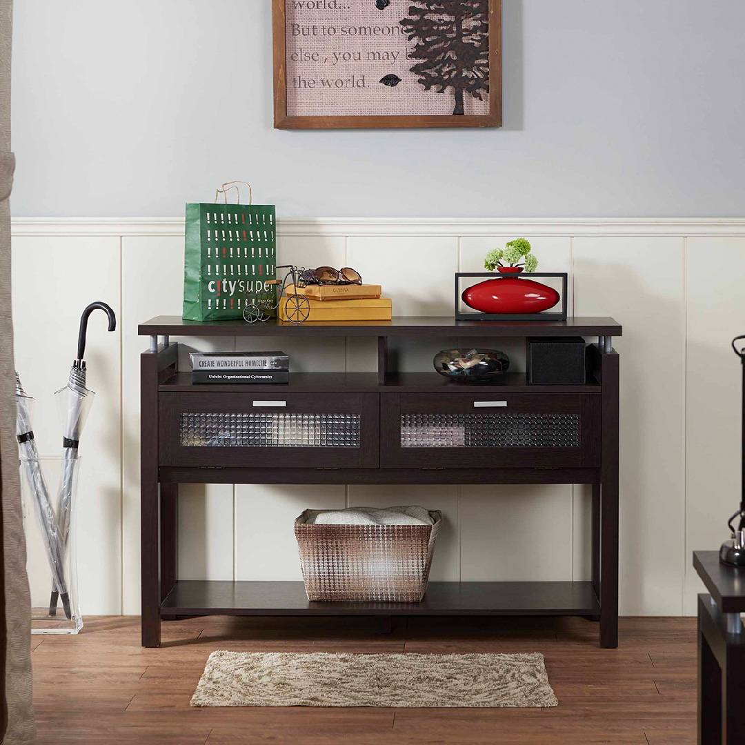 Picture of: Multifunctional Storage Convenient Console Table Safe Green Furniture Supplier Slicethinner