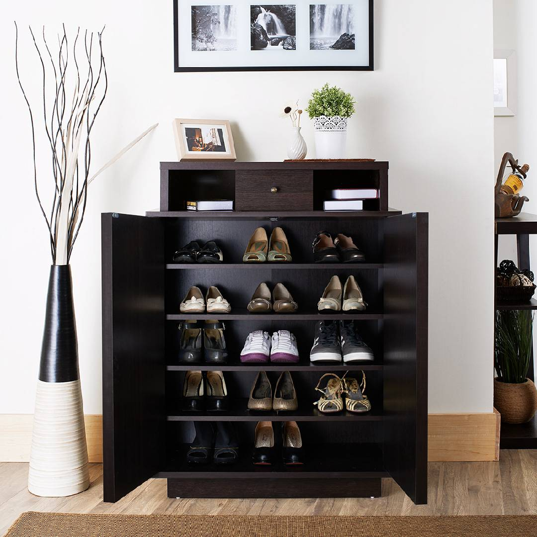 Retro Multifunctional Shoes Cabinet Research | Development | Production | Slicethinner