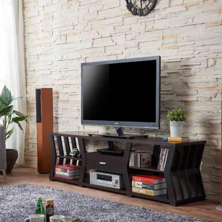 Практичная подставка под телевизор Modern Sense 1,8 м - Подставка под телевизор в стиле «песочные часы».