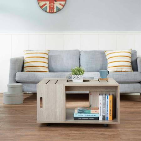 Country Style Mobile Coffee Table