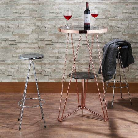 Buffet Table - Stool, simple seating object with modern simple.