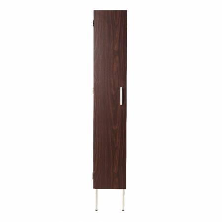 Design a forma di verticale del mobile da bagno.