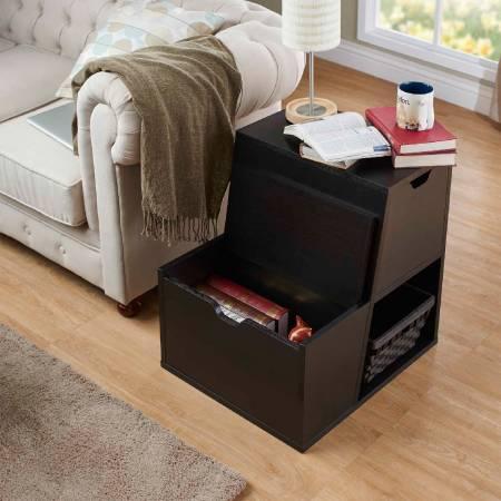 Funkcjonalna szafka do przechowywania w stylu drabinkowym