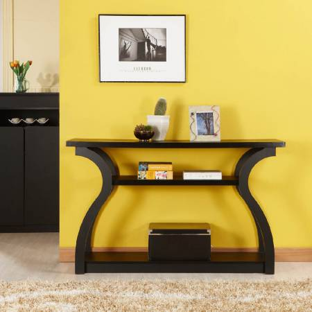 Gourd Streamline Console Table - Home-style, office or commercial space are acceptable to use.