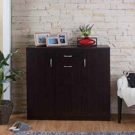 Classic High Quality Shoes Cabinet - Clean and simple shoe cabinet.