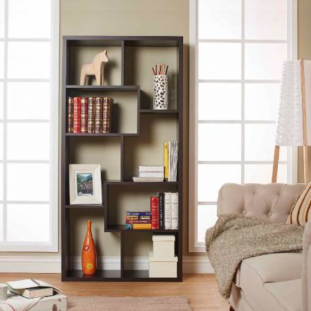 Deformable Display Bookcase - Horizontally put.