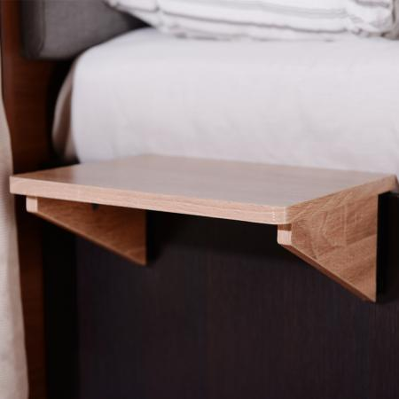 Extend Flat Dual Purposes Shelf(Side Table) - characteristic consists in increasing the extend flat to put things and do things