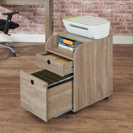 Fashionable High-Capacity Documentary Cabinet - Wheels attached documentary cabinet