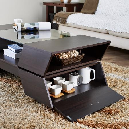 Imitate Butterfly Appearance Modern Style Coffee Table - The appearance design alike the butterfly spreads wings, flying lightly.