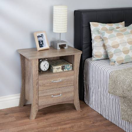 Lightweight Practical Small Side Table (Night stand) - The side table has excellent exterior shape