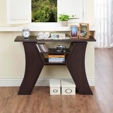 Modern Classic H-shaped Console Table - 2. Medium size suitable for any corner of the house.