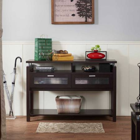 Multifunctional Storage Convenient Console Table - Console table style is simple, to provide storage space for many of the console table.